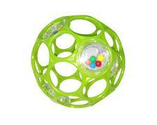 Oball Rattle 10 cm - HCM - Rhino Toys 1 Stück grün