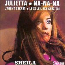 CD Single SHEILAJulietta - EP REPLICA  4-TRACK CARD SLEEVECDSINGLE