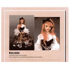 1:12 Visual Mini Doll Dressing Made Easy~By Dana  ~ MARIANNE ~PDF- DOWNLOAD