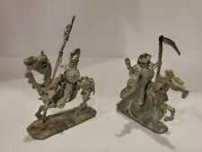 Vintage Ral Partha Skeletal Undead Riders And Horses