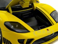 SALEEN S7 YELLOW 1:18 DIECAST MODEL CAR BY MOTORMAX 73117