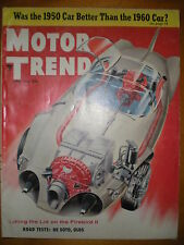 MOTOR TREND MAGAZINE APRIL 1956 GREAT VINTAGE MAGAZINE