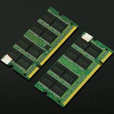 2GB 2x 1GB DDR PC2700 DDR333 200pin Sodimm 333Mhz Notebook Laptop Memory NON-ECC