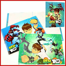 Ben 10 Alien Force  3PC File Jacket Clear Folder Set