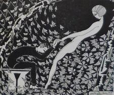rare Guy Lévis Mano Poèmes de la tristesse... illust.  EO 1924 GLM bel état