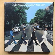 BEATLES ABBEY ROAD - DELUXE (BOX) LP 2009 DELUXE ISSUE WITH LARGE T-SHIRT AND PO