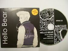 HELLO BEAR 64 Hit Combo –  2012 UK/EU CD Card Sleeve – Indie Rock – BARGAIN!