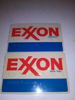 Vintage Exxon Credit Cards Gas Card 1978 (2)