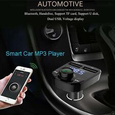 Best Bluetooth Car MP3 Player FM Transmitter Wireless Radio Adapter USB Charger