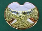 (MAG) POSACENERE ALFA Made Italy PORCELLANA? 23cm vintage retro' ASHTRAY