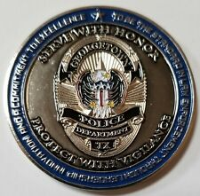 Georgetown TX Texas Police Department Refuse Mediocrity Challenge Coin