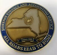 "DOD Defense Finance and Accounting Service DFAS ""ROME"" Challenge Coin"