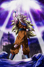 Dragon Ball Z Poster Goku Super SJ 3 12inches x 18inches Free Shipping