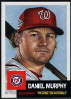 2018 Topps MLB The Living Set #68 Daniel Murphy Washington Nationals