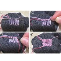 Darning Mushroom Red Wooden Sock Vintage Sewing Needlework Tool Shabby G