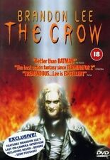 THE CROW BRANDON LEE MICHAEL WINCOTT ERNIE HUDSON EIV UK REGION 2 DVD L NEW