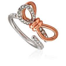 Swarovski Lifelong Medium Bow Ring- Size 50