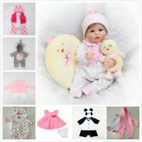 """16"""" Newborn Baby Clothes Alive Reborn Doll Baby Girl Clothes NOT Included Doll"""