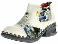 Tma Ladies Ankle Boots Leather Comfort Leisure Women's Shoes 5195 Multicoloured