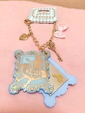 NEW Disney Store Japan Angelic Pretty Alice in Wonderland Mirror Keychain