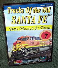 "20146 TRAIN VIDEO DVD ""BNSF TRACKS OF OLD SANTA FE # 7"""