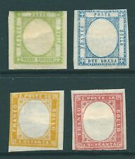 ITALIAN STATES vintage stamp group: Plate printings without embossing