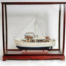Hardwood display case for Tall Ships 95cm