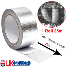 25M Roll Self Adhesive Reflective Heat Shield Wrap Tape Wrapping Thermoshield UK