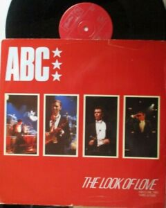 """ABC ~ The Look Of Love ~ 12"""" Single PS"""