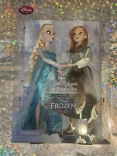 New listing Disney Classic Frozen Dolls Ice Skating Set with Anna and Elsa NEW!