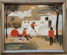 Kurt Sandstede Signed and dated 1932 Expressionist oil Excellent German