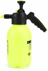 2L Garden Hand Pump Sprayer – Portable Pressure Spray Bottle Water Weed Chemical