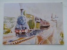 Old Art Postcard Unposted London & South Western Railway Drummond T9 Ken Wood