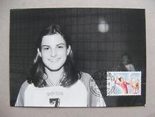 LIECHTENSTEIN, maximumcard maxi card 1999, sport volleyball