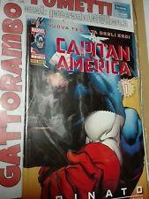 Capitan America N.1 Rinato imbustato - Marvel Panini comics Qs. Edicola