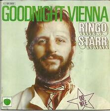 RINGO STARR Goodnight Vienna FRENCH SINGLE APPLE 1975
