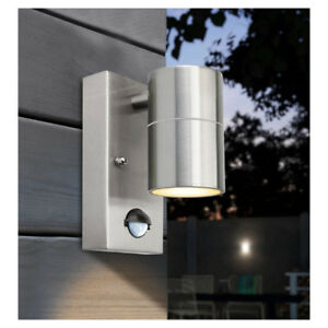 Stylish Outdoor Wall Light with Movement Sensor for the Front Door 240v CE