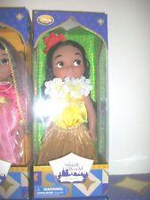 "Disney Store Small World Hawaii Singing 16"" Doll"