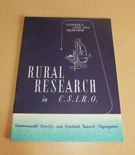Rural Research in CSIRO Number 4 June 1953 Superphosphate Trashy Leaf Tobacco