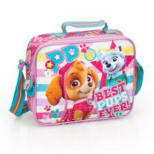 Paw Patrol BPE Premium Pink Insulated School Girls Lunch Bag Skye