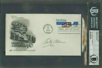 Bobby Allison Nascar Racing Signed First Day Cover AUTO Autograph BGS BAS