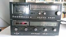 Sharp SM 1266 + RS 1266 amplifier hifi radio cassette vintage technics marantz