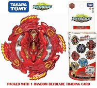 Takara Tomy Beyblade Burst B-132 03 Bloody Longinus 3 Press Confirmed US Seller