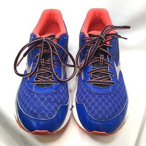 MIZUNO Wave Inspire 12 Running Shoes Womens Size 11  Sneakers Blue Bright Pink