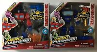 Set of 2: Soundwave & Optimus Prime Transformers Hero Mashers  Mash-Up Brand New