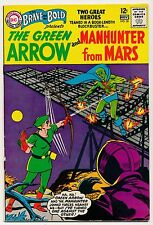 BRAVE and the BOLD No.50 1963 Beautiful, One owner, 1st HERO TEAM UP GREEN ARROW