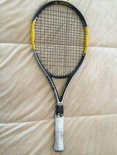 "Wilson Pro Staff Blitz Black & Yellow 100"" HiBeam 4 1/2"" Racquet w/Case & Strap"