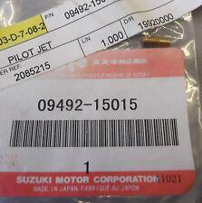 Genuine Suzuki FZ50 JR50 LT50 LT-A50 Carburettor Pilot Jet (No. 15) 09492-15015