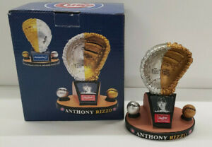 2016 Cubs SGA Anthony Rizzo Rawlings Gold & Platinum Glove Award Statue