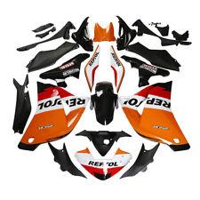 Orange Repsol Injection ABS Fairing Bodywork Kit For Honda CBR250RR 2011-2013 12